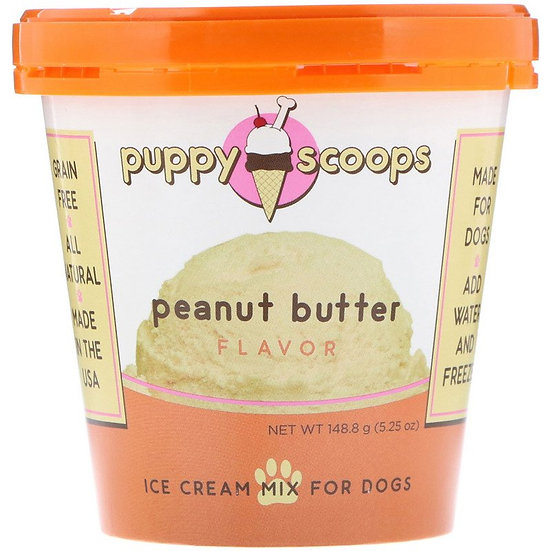 Puppy Scoops Ice Cream Mix - Peanut Butter