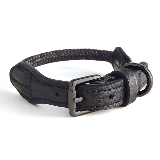 ROPE COLLARS - Black