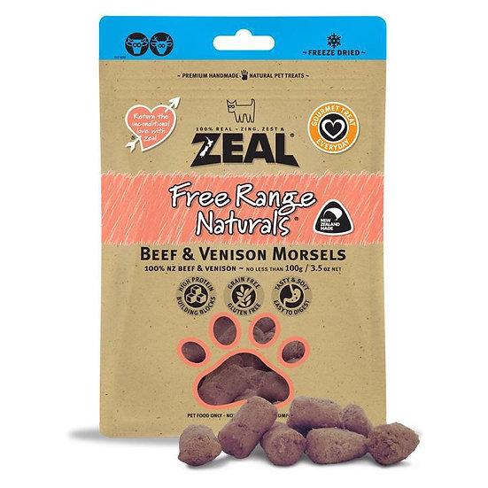 Zeal Beef & Venison Morsels