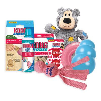 KONG Puppy Pack Treats And Toys