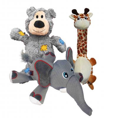 KONG Cuddly Toys Multipack