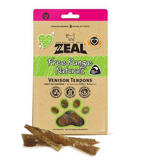 Zeal Free Range Natural Venisons Tendons