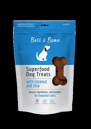 Superfood Dog Treats: Coconut & Chia
