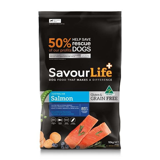 SavourLife Grain Free Salmon Adult
