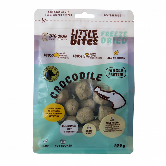 Crocodile Little Bites Freeze Dried