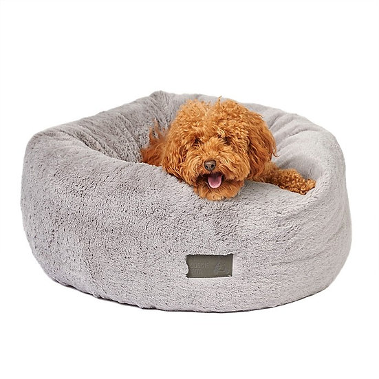 La Doggie Vita Plush Donut Dog Bed