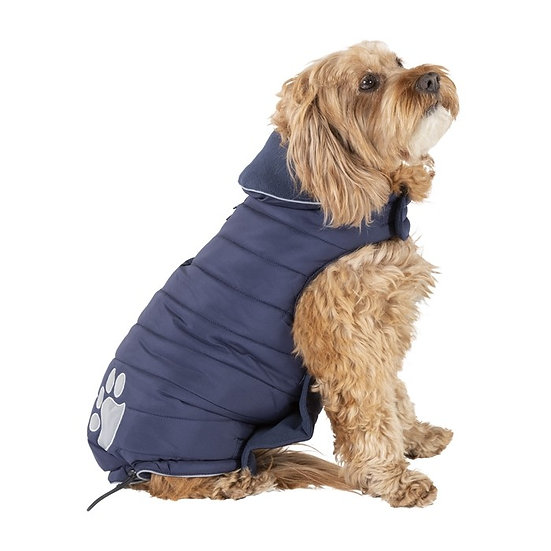 Good 2 Go Relective Trim Puffer Dog Coat