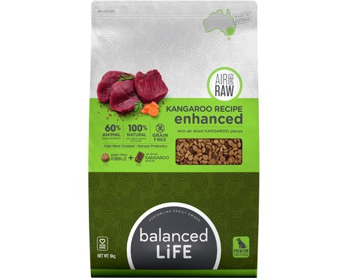 Balanced Life Enhanced Kangaroo Meat Pieces