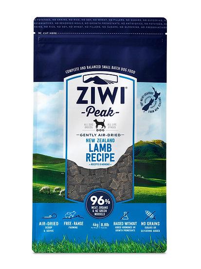 Ziwi Peak Dry Dog Food Lamb