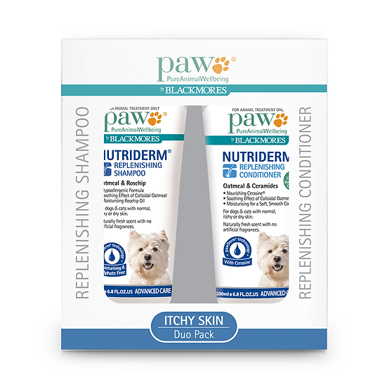 PAW Blackmores Itchy Skin Shampoo And Conditioner Duo