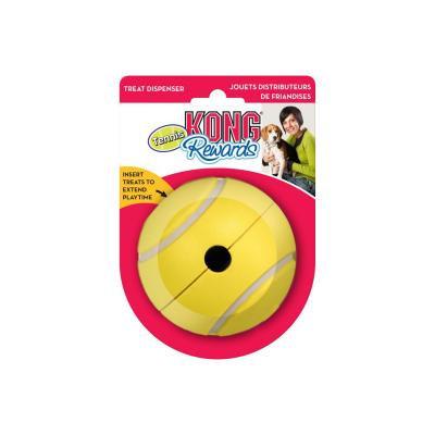 KONG Rewards Tennis Ball Rubber Treat Dispenser