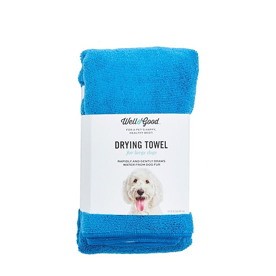 Well & Good Plain Dog Towel