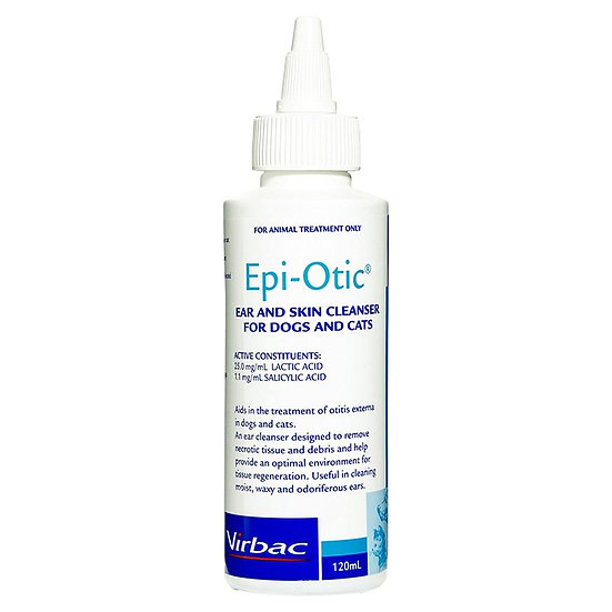 Virbac Epi-Otic Ear and Skin Cleanser for Dogs and Cats