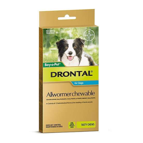 Drontal Chewable 10kg