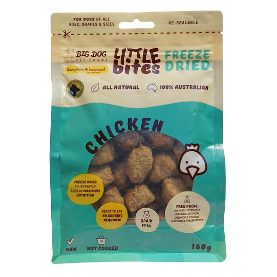 Little Bites Chicken Freeze Dried