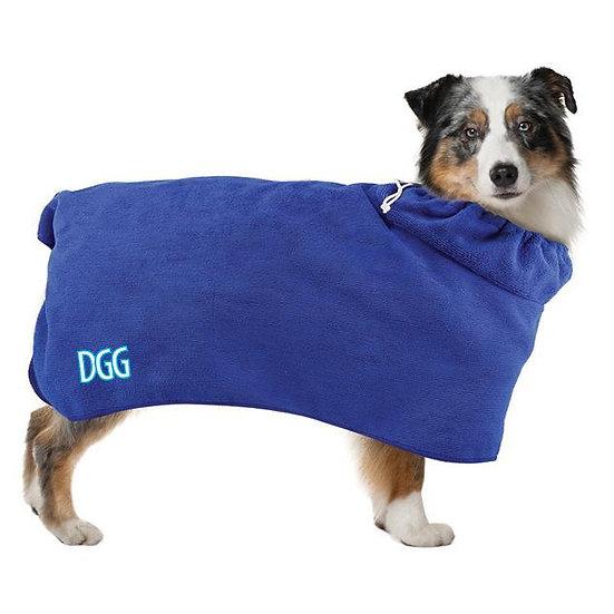 DGG Microfibre 2-in-1 Bath Robe & Towel
