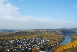 Der Nachbarort Trittenheim