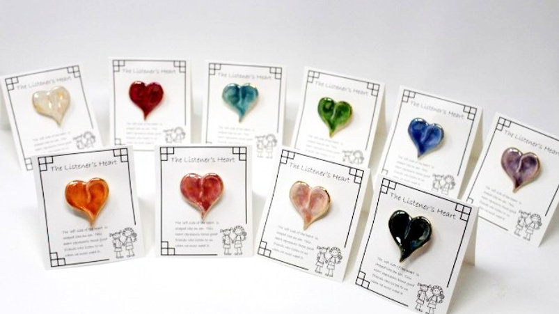 Full Set of 10 Assorted Listener's Hearts