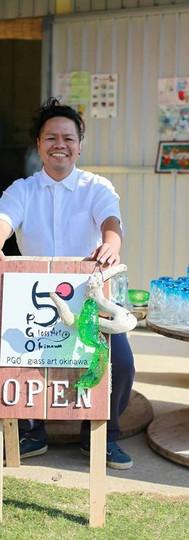 PGO glass art okinawa