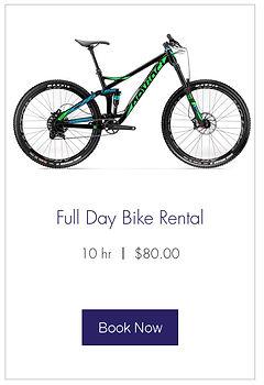 Bike Rentals in Squamish