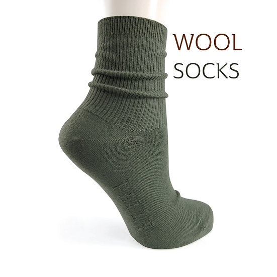 ถุงเท้าวูลกันหนาว ThermoCool Wool -Mini Rib