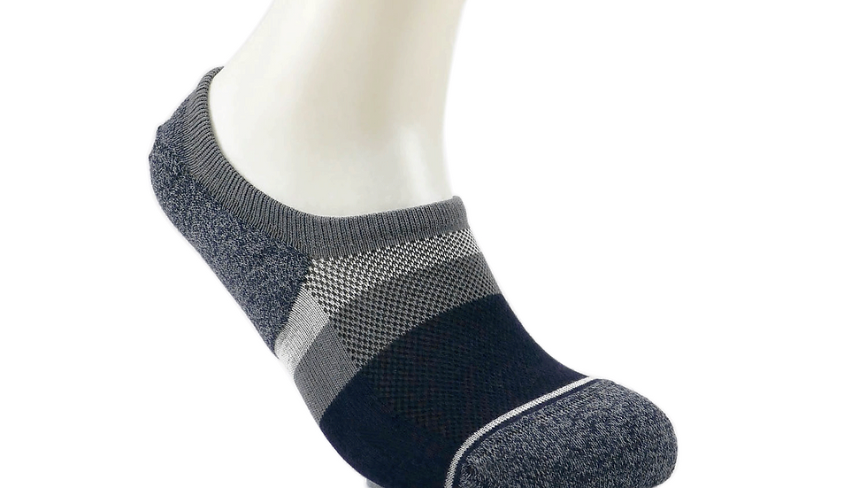 Emoo Left Right No Show Socks - Loafer Cut