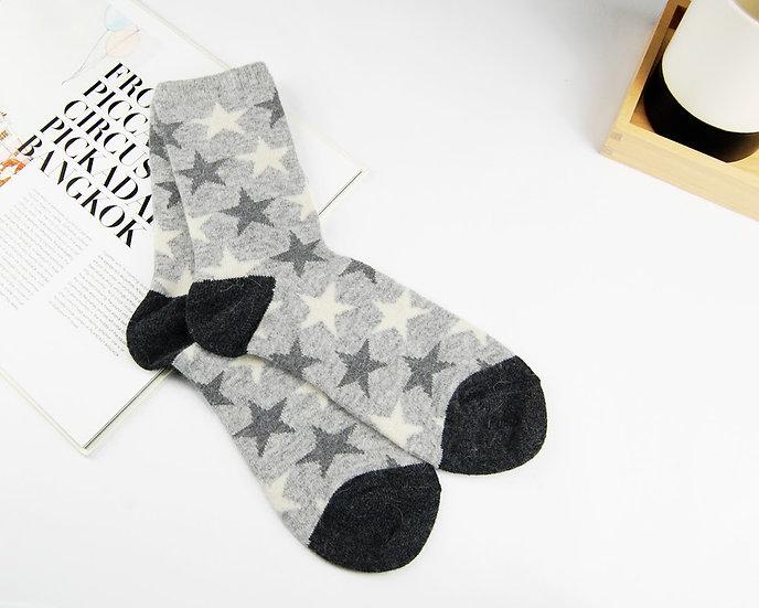 ถุงเท้า Wool Grey x Star
