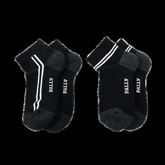 ถุงเท้ากีฬาสีดำ