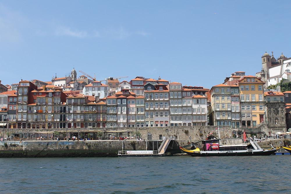 Cais de Ribeira, Porto, Portugal