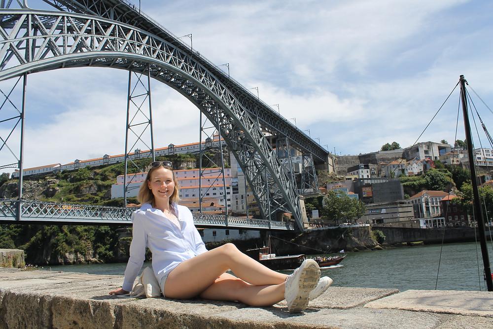 Louis I Bridge, Porto, Portugal