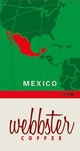 Etikett Mexico Kaffee