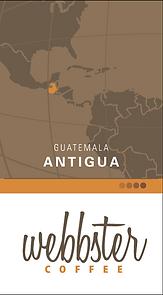 WEBBSTER Guatemala Coffee