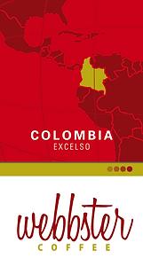 WEBBSTER Colombia Coffee