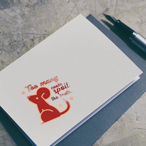 Wise Saying Seals illustration - Rat