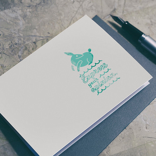 Wise Saying Seals illustration - Rabbit