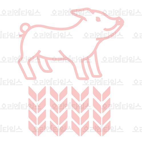 Pig, 12 Animal Sign (pu)