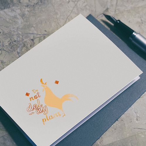 Wise Saying Seals illustration - Rooster