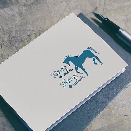 Wise Saying Seals illustration - Horse