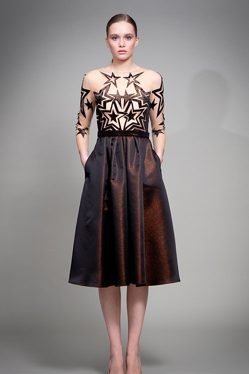 Bronze Superstar Dress