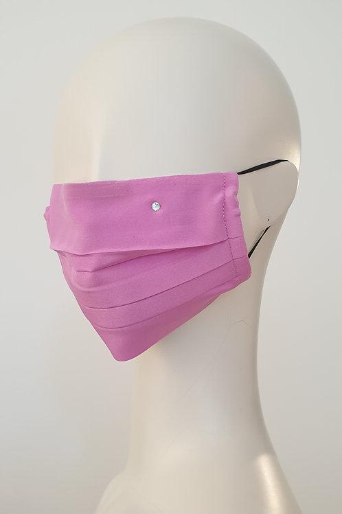 Silk Face Mask Pink