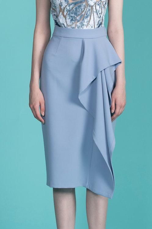 Floret Pencil Skirt