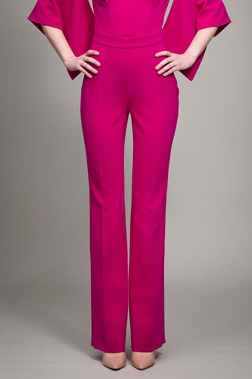 Fuchsia Slim Pants