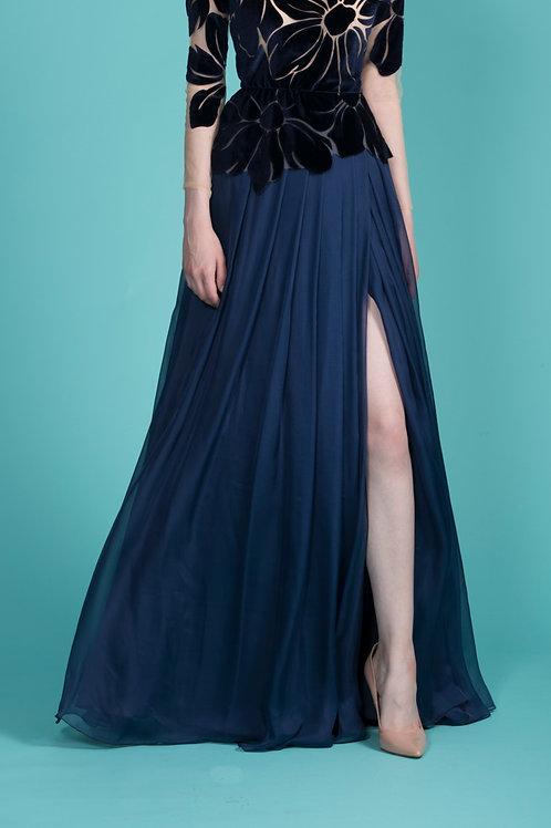 Midnight Blue Stella Skirt