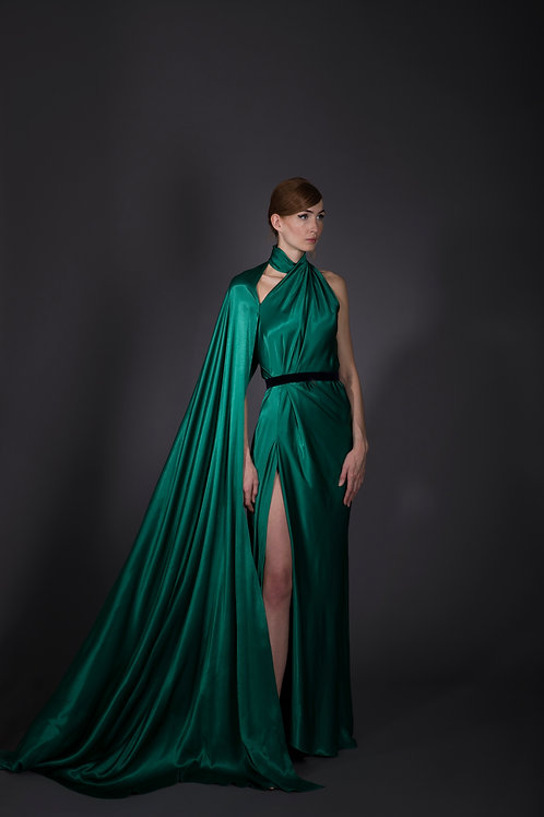 Green Battleship Gown