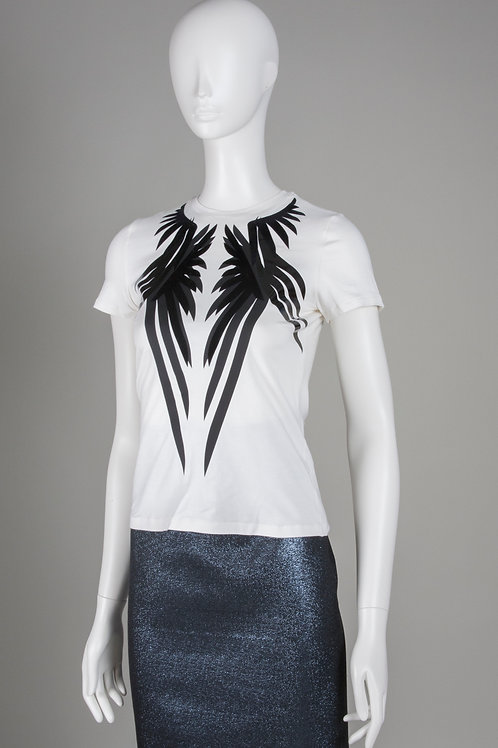 White Bamboo Wings T Shirt
