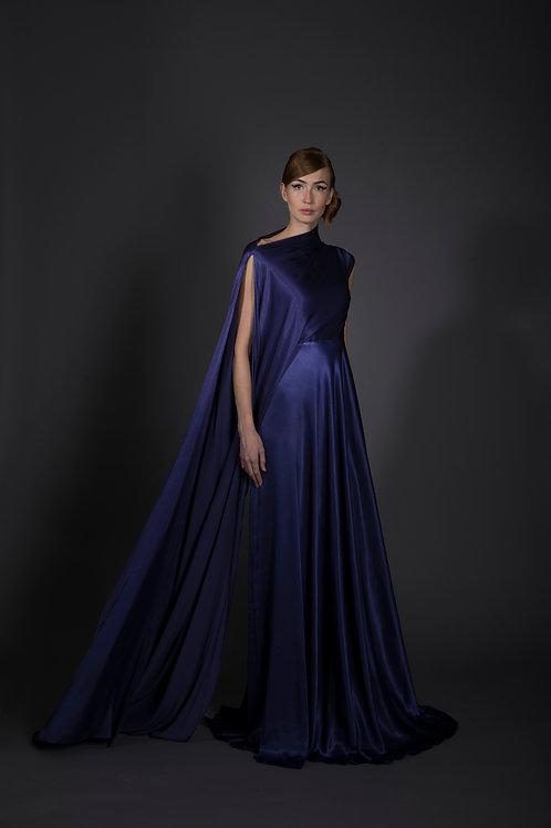 Blue Battleship Gown
