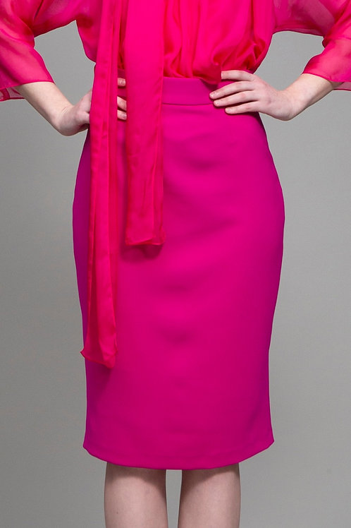 Fuchsia Olivia Skirt