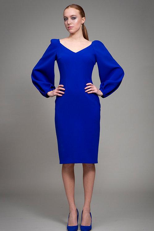 Blue Double Tanja Dress