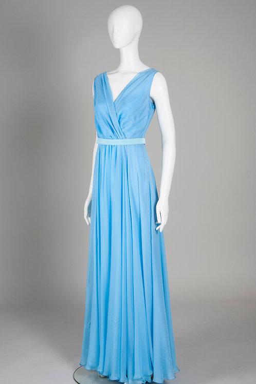 Sky Blue Hummingbird Dress