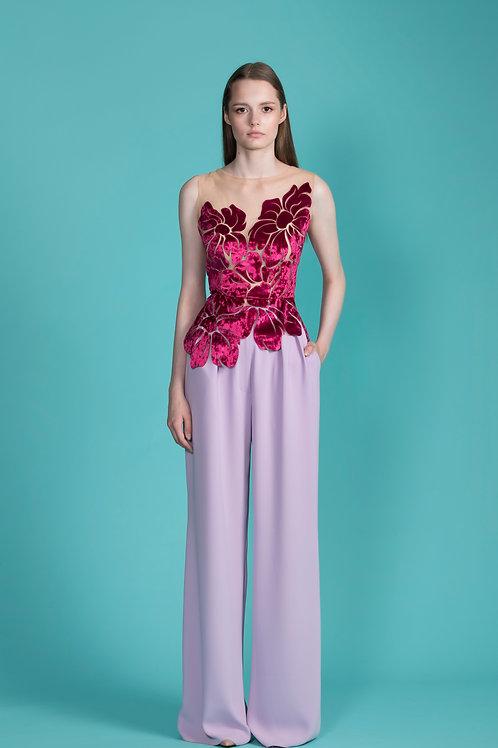 Lilac Wide Pants
